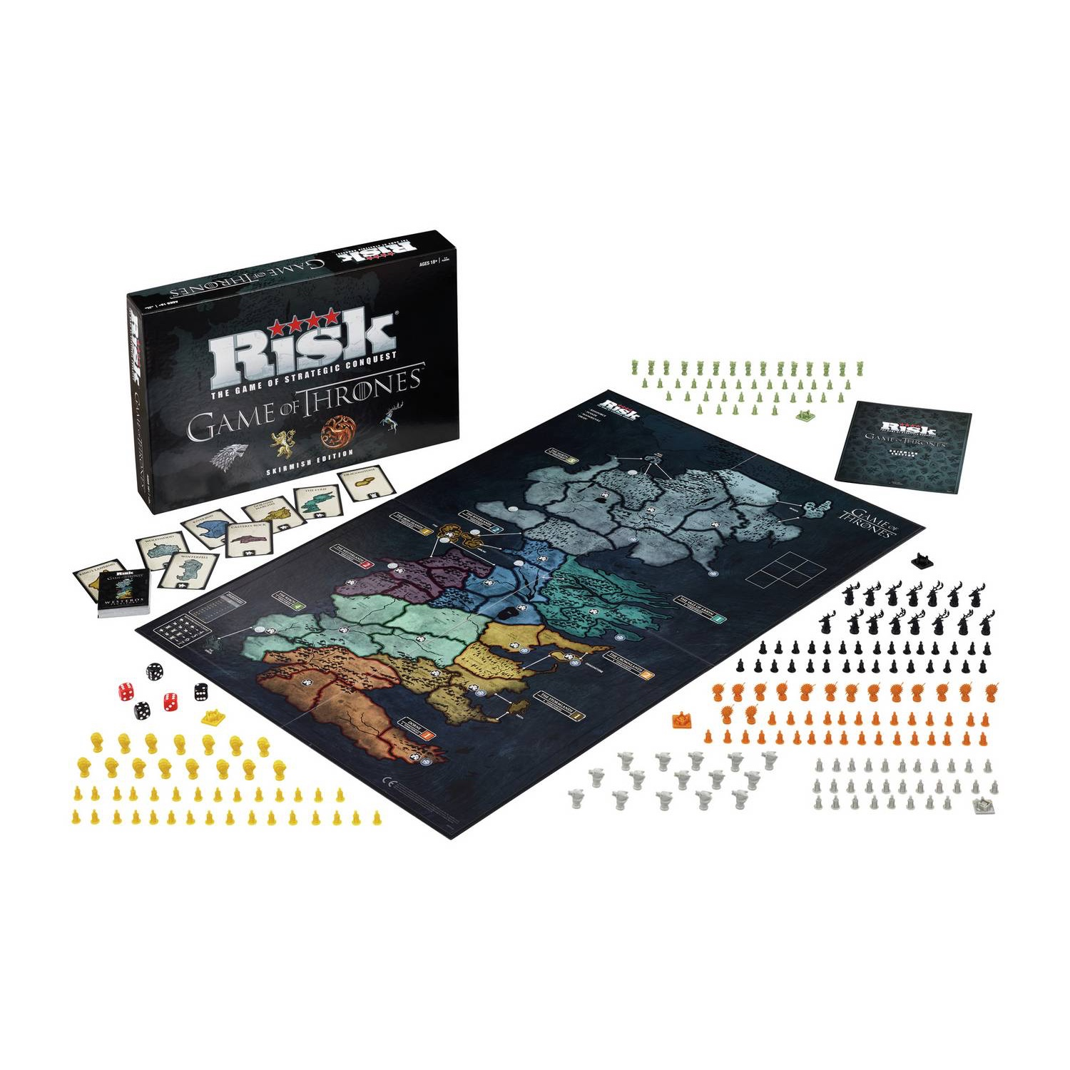 Risk Game Of Thrones Edition Board Game Online In Dubai Uae Toys R Us